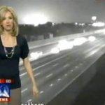 Esplosione luminosa in diretta tv, resta un mistero