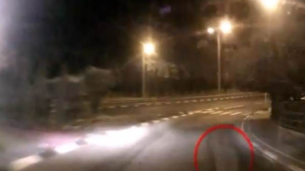 Fantasma di ragazza investito da auto - Video