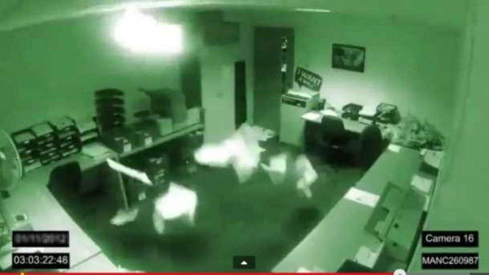 Ufficio infestato da fantasmi - Guarda il video
