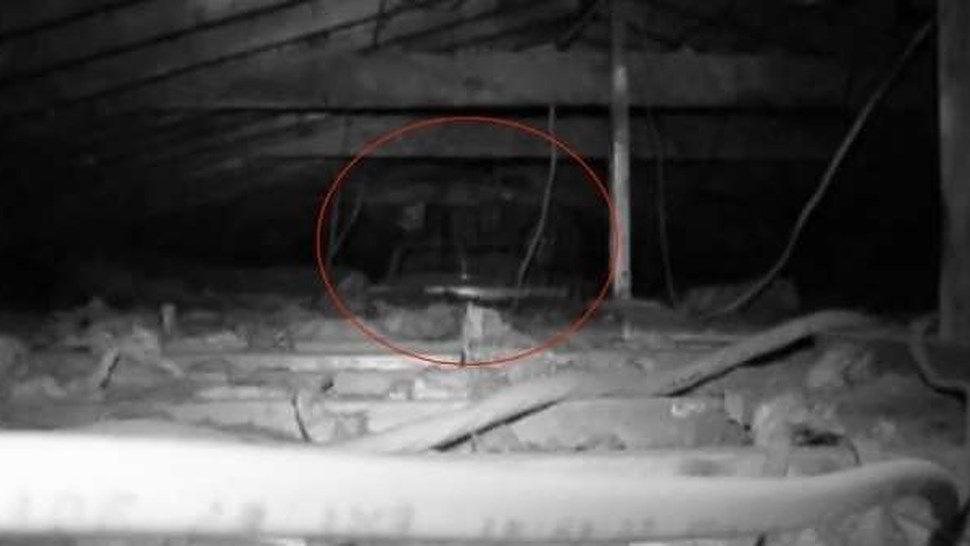 Bambino fantasma appare in mansarda, in video