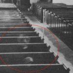 Il fantasma di un monaco in chiesa