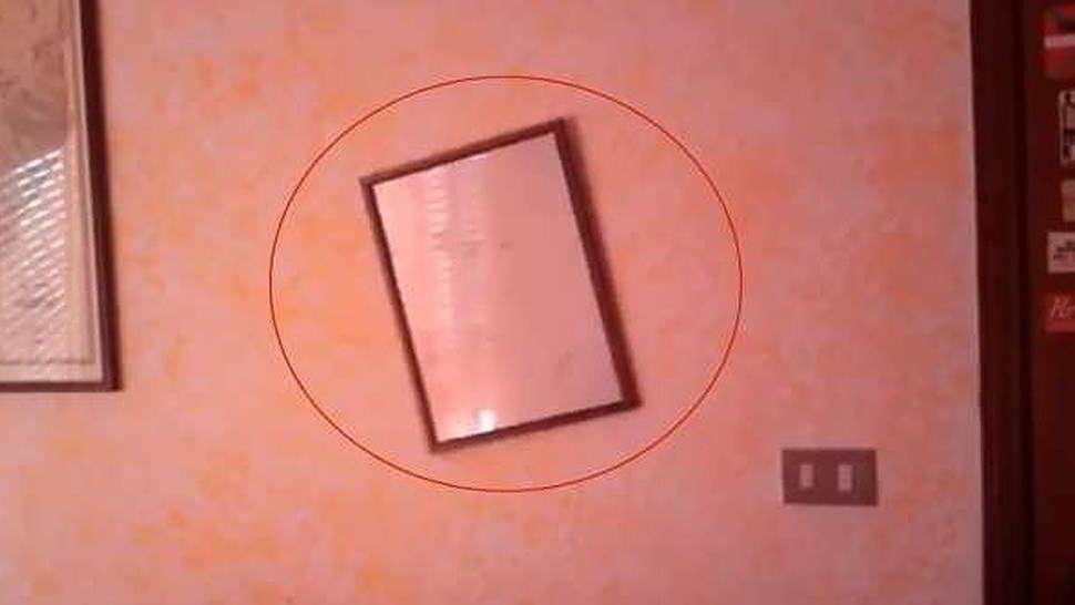 Un video che prova i fenomeni poltergeist