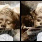 La mummia di Rosalia Lombardo conservata ai Cappuccini apre gli occhi