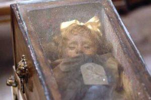 La mummia di Rosalia Lombardo ai cappuccini