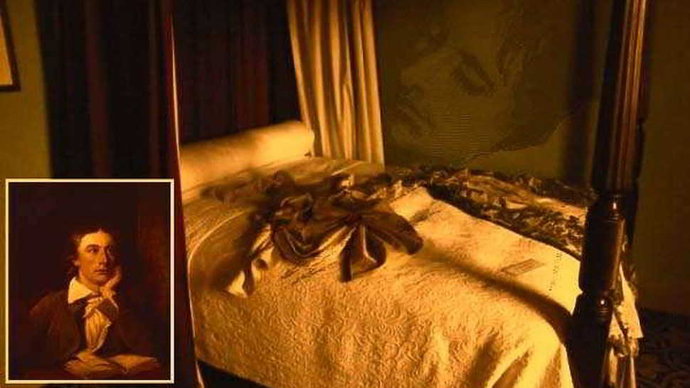 Il fantasma di John Keats a Roma