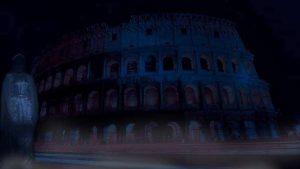 Il fantasma di Messalina appare nei pressi del Colosseo a Roma