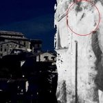 Il fantasma di Serafino nel muro di Belmonte in Sabina - Foto