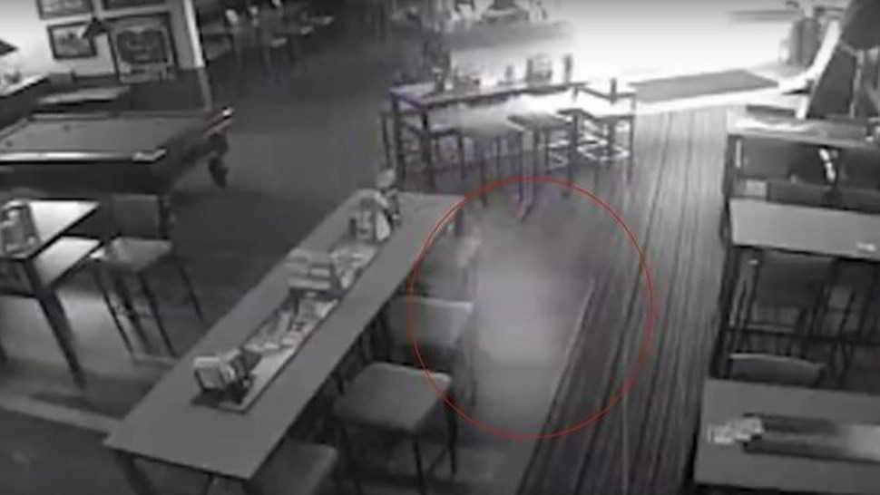 Un fantasma appare in video allo Shaw Bay Hotel