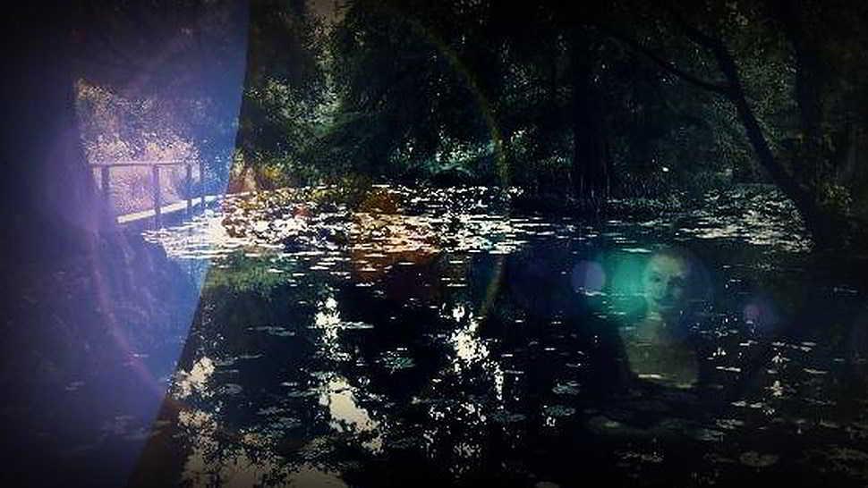 Lucida Mansi fantasma dell'Orto Botanico a Lucca