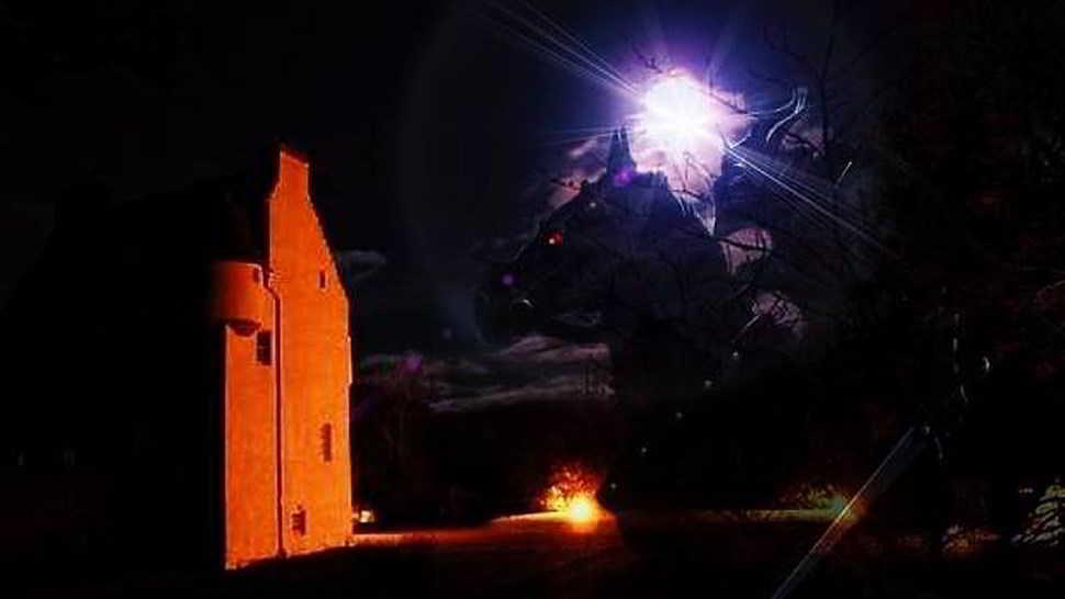 il fantasma nero del castello di barcaldine