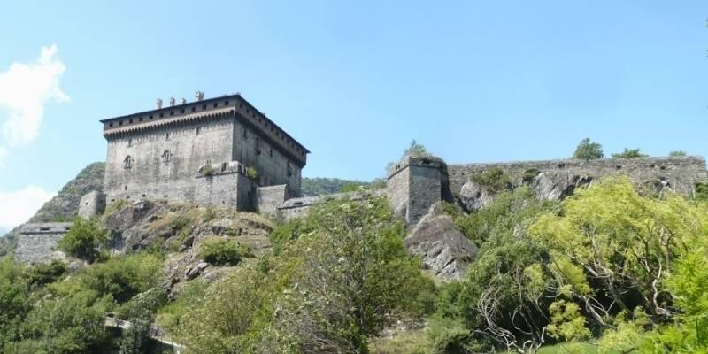 Il simpatico fantasma del Castello di Verrès in Valle d'Aosta-2