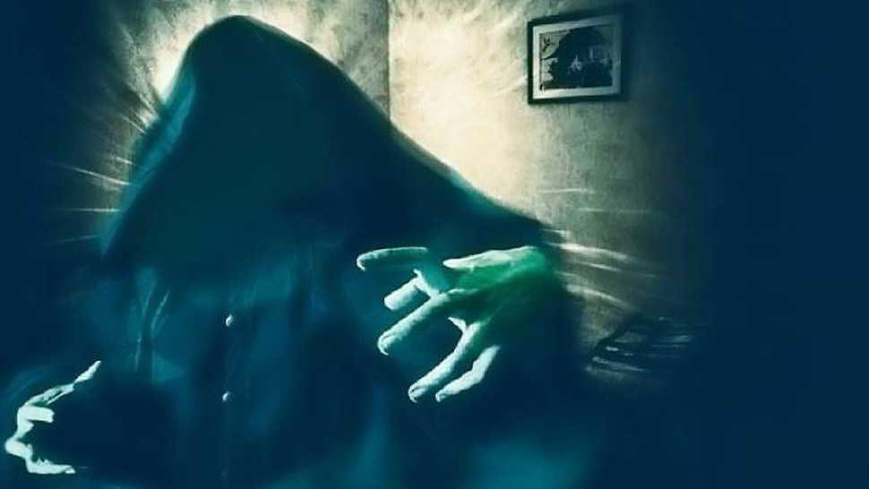 Paura di notte per il fantasma di un monaco