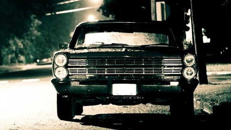 Fantasma in auto. L'ultimo saluto