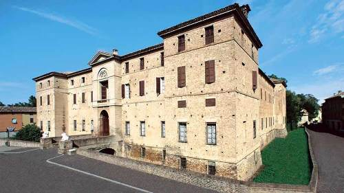 Donna Cenerina, Rocca Meli Lupi di Soragna