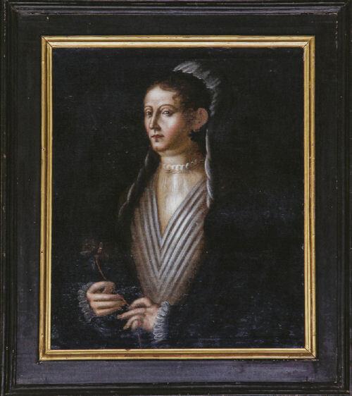 Donna Cenerina, ritratto