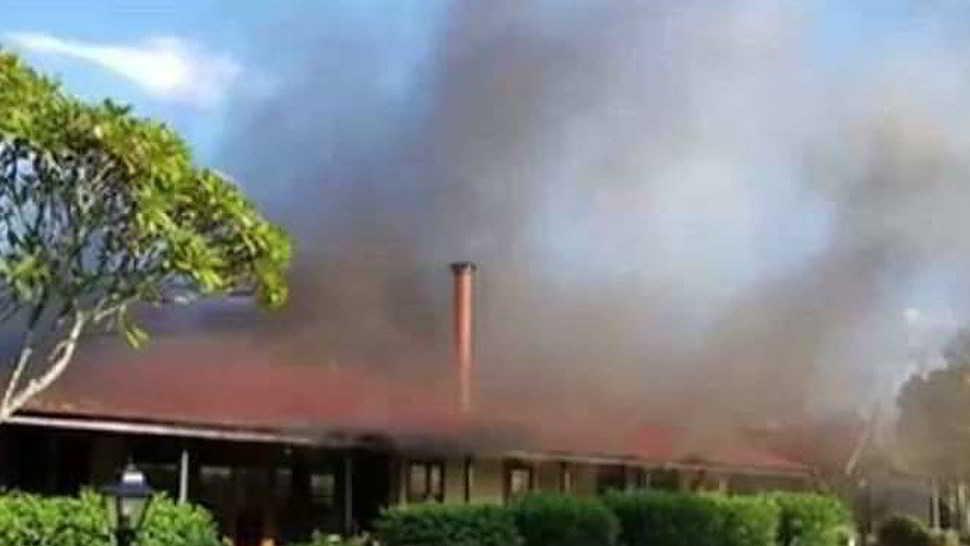 Casa maledetta distrutta due volte dal fuoco rovina cerimonia di nozze