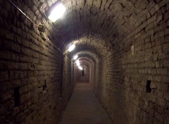 Il Corridoio dei fantasmi alla Rocca Malatestiana Corridoio dei fantasmi