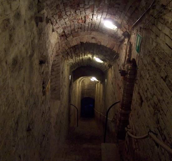 Il Corridoio dei fantasmi alla Rocca Malatestiana camminamenti