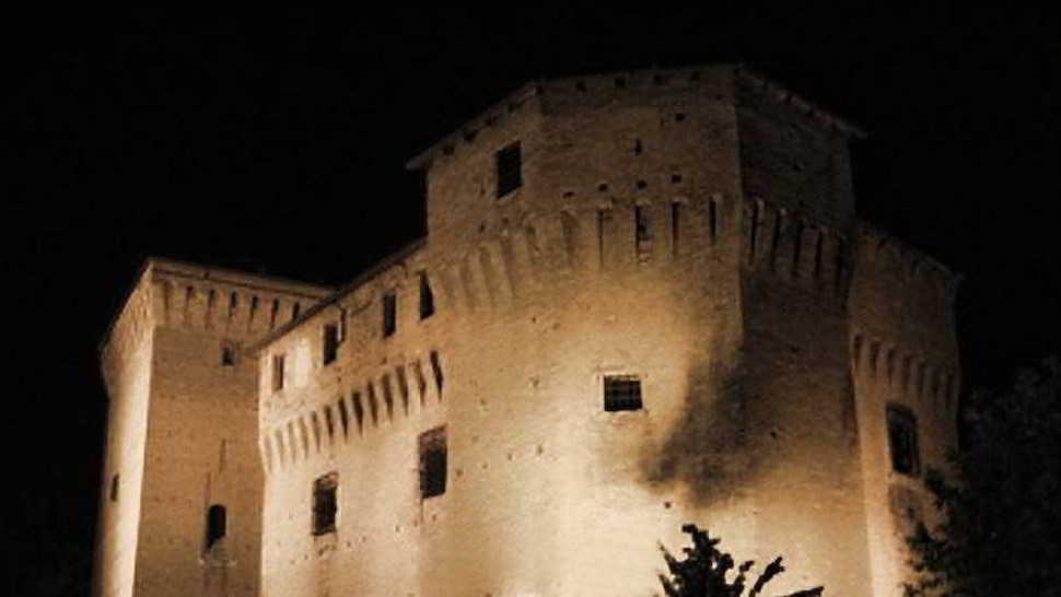 Il Corridoio dei fantasmi alla Rocca Malatestiana