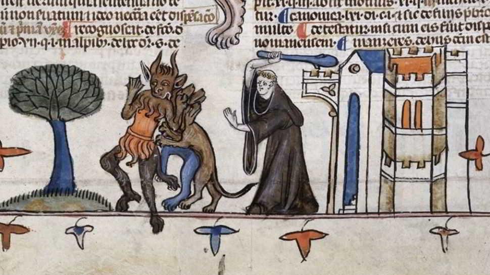 Il monaco che vide 3 volte il Demonio 1