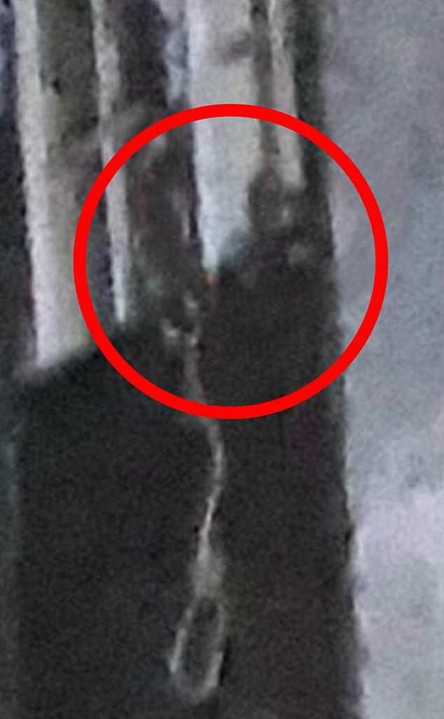 Fantasma ripreso in un manicomio abbandonato
