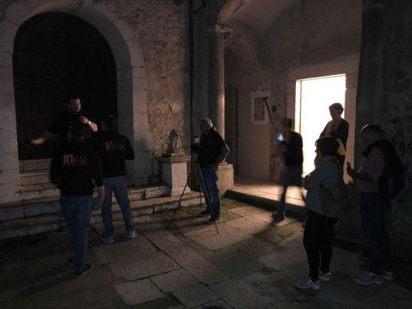 giap Nel Castello di Pescolanciano a caccia di fantasmi