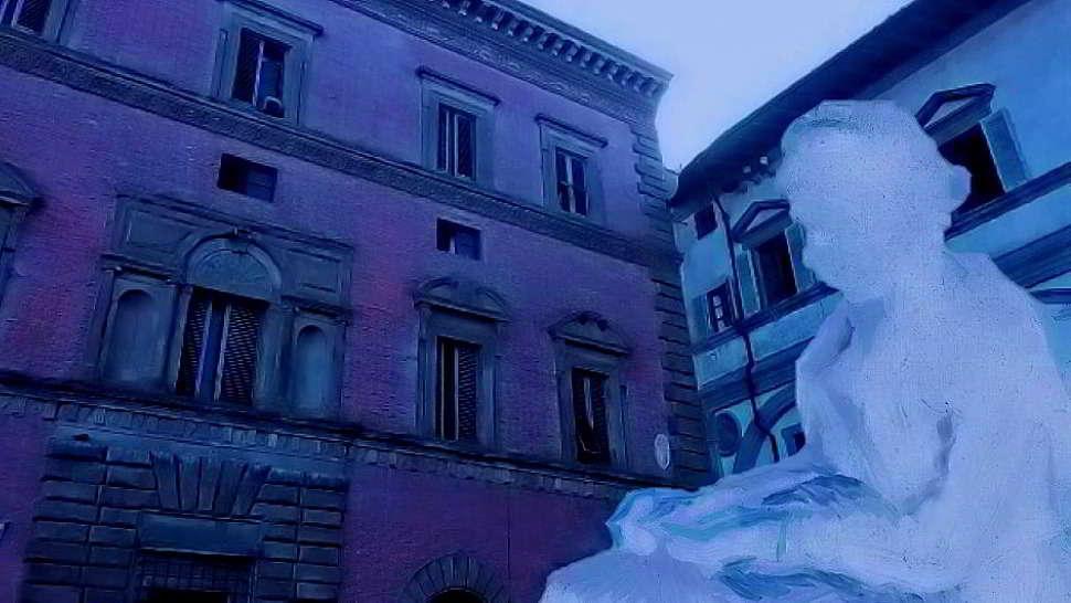Il fantasma della finestra sempre aperta a Firenze